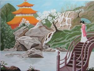 Scène de vie Japonaise dans CREATIONS 2010 scnejaponaise4-300x228