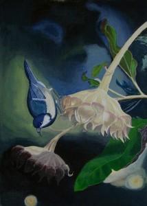 La petite mésange dans CREATIONS 2013 defi-de-decembre-petite-mesange-214x300